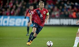 TAKK FOR MEG: 29-åringen følte tiden var moden for å legge opp på landslaget. Foto: Bjørn Langsem / Dagbladet  .