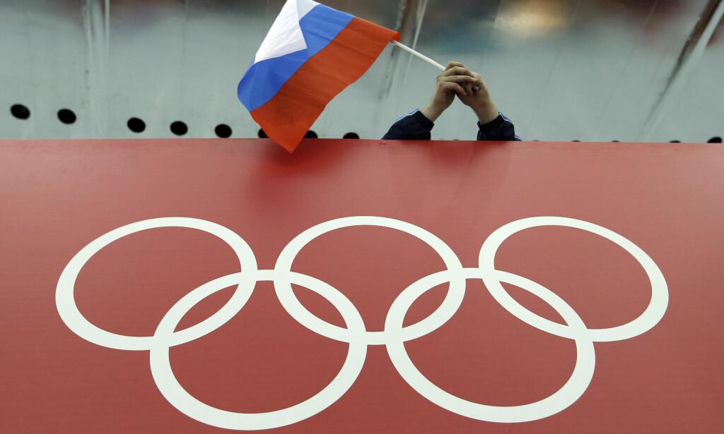 BESUDLET: OL i Sotsji er blitt en eneste stor sdopingskandale etter at McLaren avslørte det russiske jukset på hjemmebane. <br>Foto: AP /David J. Phillip/ NTB Scanpix
