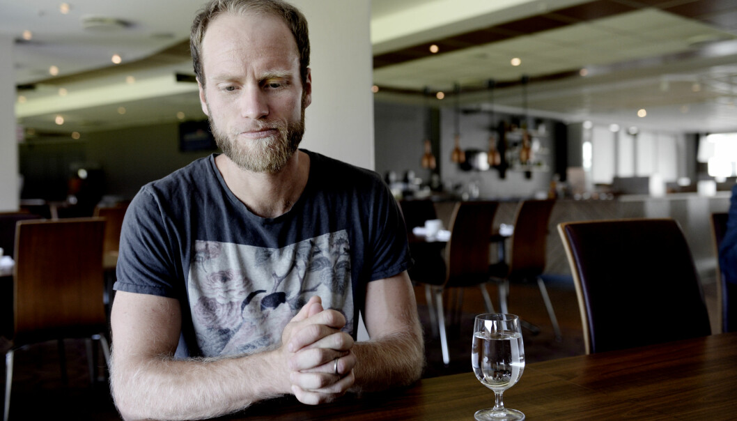 <strong>TUNGT:</strong> Martin Johnsrud Sundby synes det er forferdelig trist at han straffes etter å ha gjort alt det den norske landslagslegen anbefalte. Foto: John Terje Pedersen