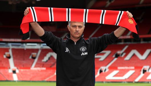 <strong>SKAPER OPTIMISME:</strong> José Mourinho vil snu den vonde trenden på Old Trafford. Foto: NTB Scanpix