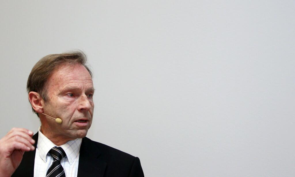 RUTINERT: Inggard Lereim er en rutinert mann i antidopingarbeidet. I tillegg til å være professor ved NTNU, er han nestleder i FIS' medisinske komité og WADA-rådgiver. Foto: Lise Åserud / Scanpix