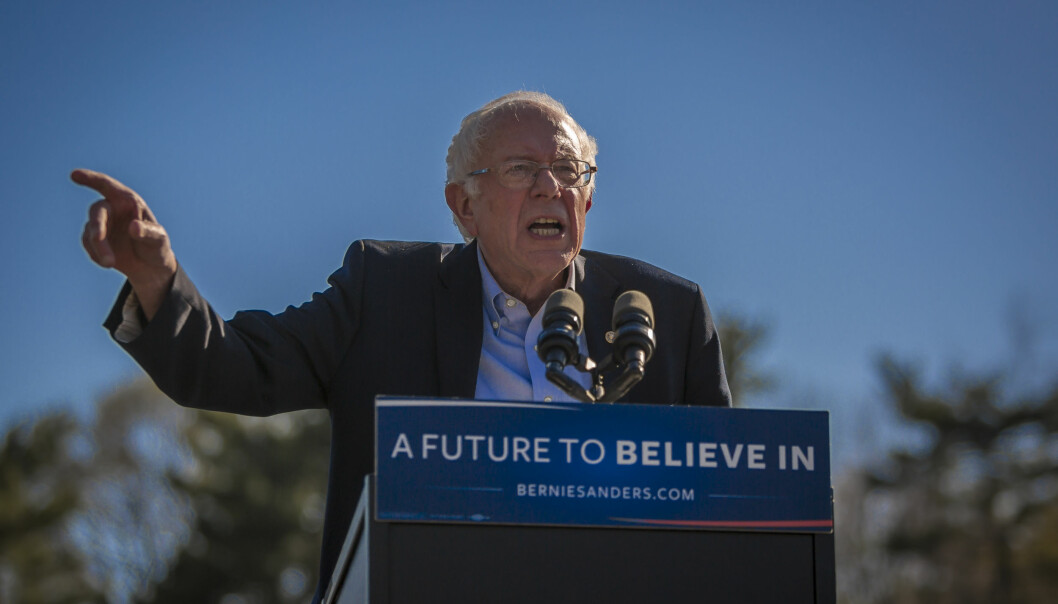 <strong>POPULÆR UTFORDRER:</strong> Bernie Sanders er blant venstrepopulistene som kommer med enkle svar på hvordan arbeiderklassen skal gjenreises.Foto: Michael Nigro/Pacific Press