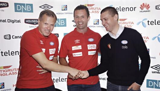 <strong>NY UTFORDRING:</strong> Ronny Deila ser fram til å samarbeide med blant annet Kjetil Rekdal i Vålerenga. Foto: Frank Karlsen / Dagbladet
