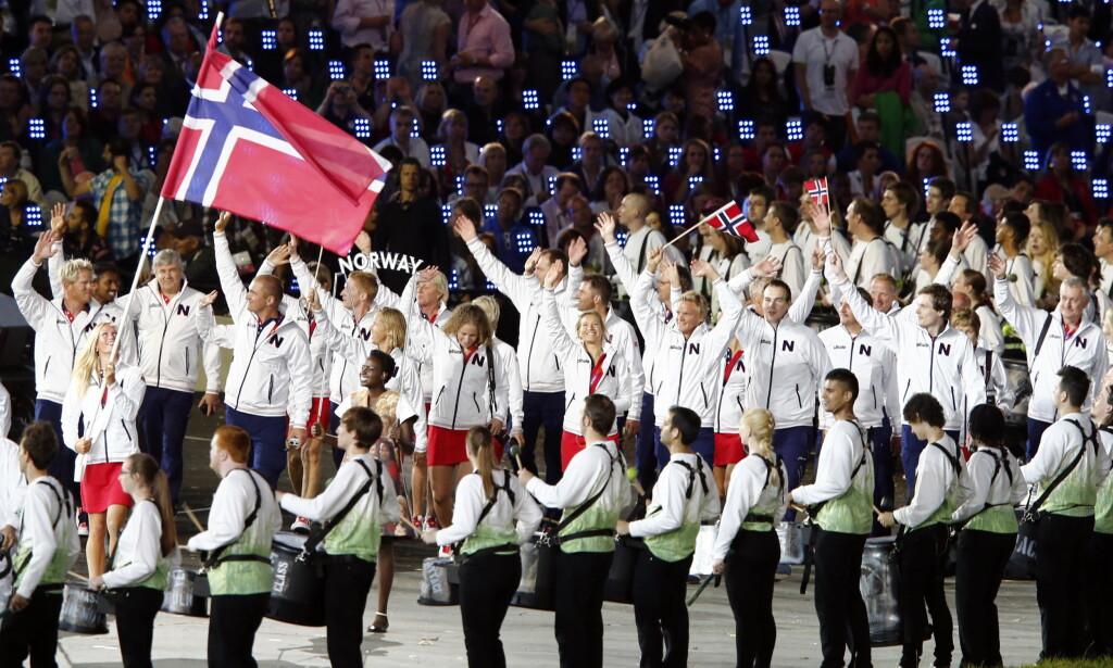 IKKE SNAKK OM EGEN DOPING:: Som i London-OL for fire år siden marsjerer Norge inn med en dopingdømt utøver i troppen. Det vil kulturminister Linda Hofstad Helleland ikke snakk om.. FOTO:: Heiko Junge / NTB scanpix.