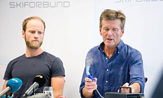 <strong>KRITIKKVERDIG UTVIKLING:</strong> Etter at Martin Johnsrud Sundby og landslagslege Knut Gabrielsen demonstrerte bruken av forstøverapparatet, har antall salg av forstøverapparat økt. Foto: Audun Braastad / NTB scanpix