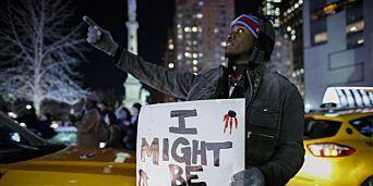 image: - Blir flere svarte amerikanere skutt nå enn før? Neppe. Men nå kan vanlige borgere dokumentere drapene