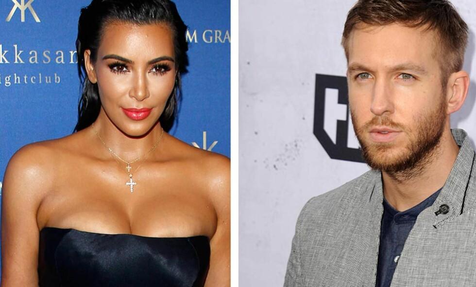 KRANGLET I SJU ÅR: Helt siden 2009 har Kanye West og Taylor Swift vært «fiender», og musikerne har flere ganger gått i munnen på hverandre. Nå nylig på grunn av låta og musikkvideoen «Famous». Wests kone, Kim Kardashian, og Swifts ekskjæreste, Calvin Harris, helte i helga bensin på bålet i striden. Foto: NTB scanpix