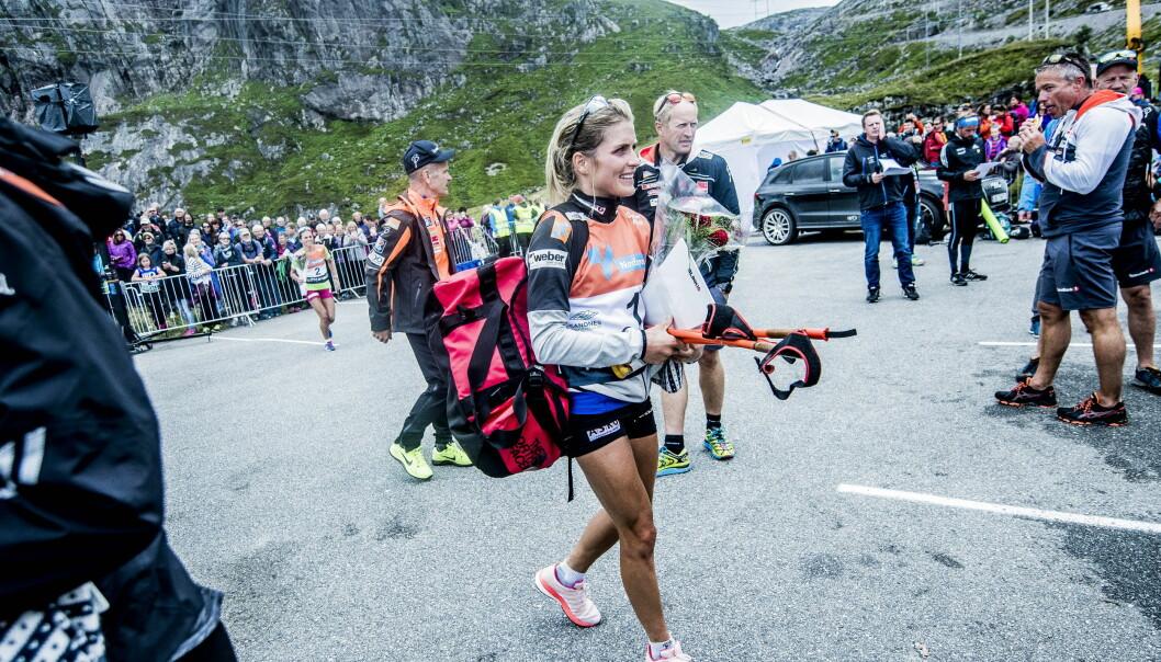 <strong>HYLLES:</strong> Therese Johaug hylles av både norske og utenlandske konkurrenter.   Foto: Thomas  Rasmus skaug / Dagbladet