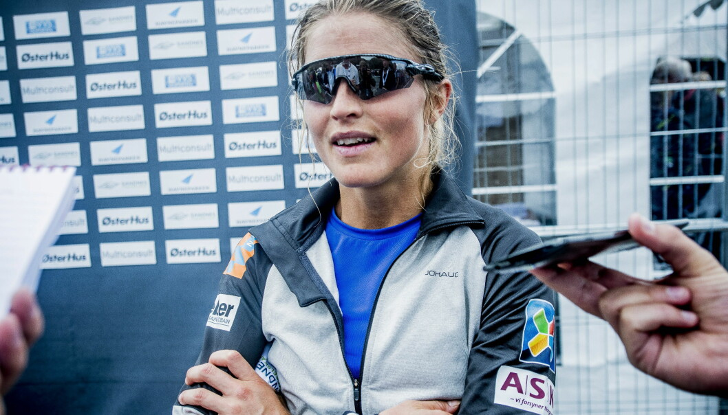 <strong>SUVEREN:</strong> Therese Johaug imponerer en hel langrennsverden. Samtidig tar hun et lite oppgjør med Martin Johnsrud Sundbys kritikere. Foto: Thomas  Rasmus Skaug / Dagbladet