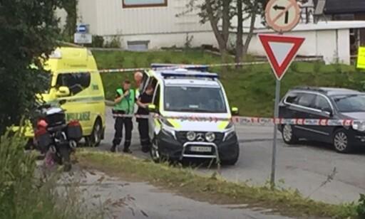 STOR AKSJON: Politiet har innkalt til pressekonferanse for å briefe pressen. Foto: Marius Medby