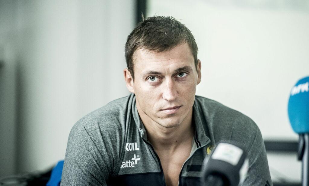 image: Kan vi tro på Legkov, eller blir han felt av mobiltelefonen sin?