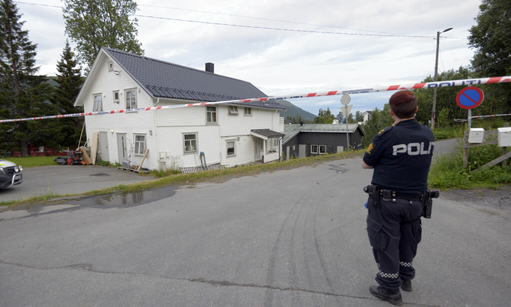 UTLEIEBOLIG: Drapet skjedde i denne utleieboligen sør på Tromsøya. Foto: Lars Andersen
