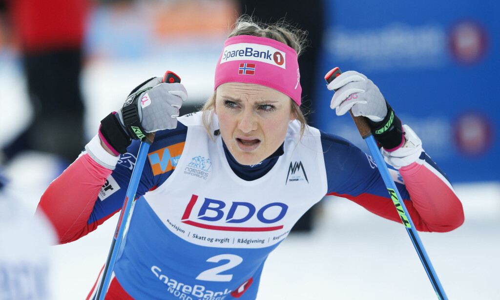 FÅR SJANSEN: Martine Ek Hagen erstatter Kari Øyre Slind. Foto: Terje Pedersen / NTB Scanpix