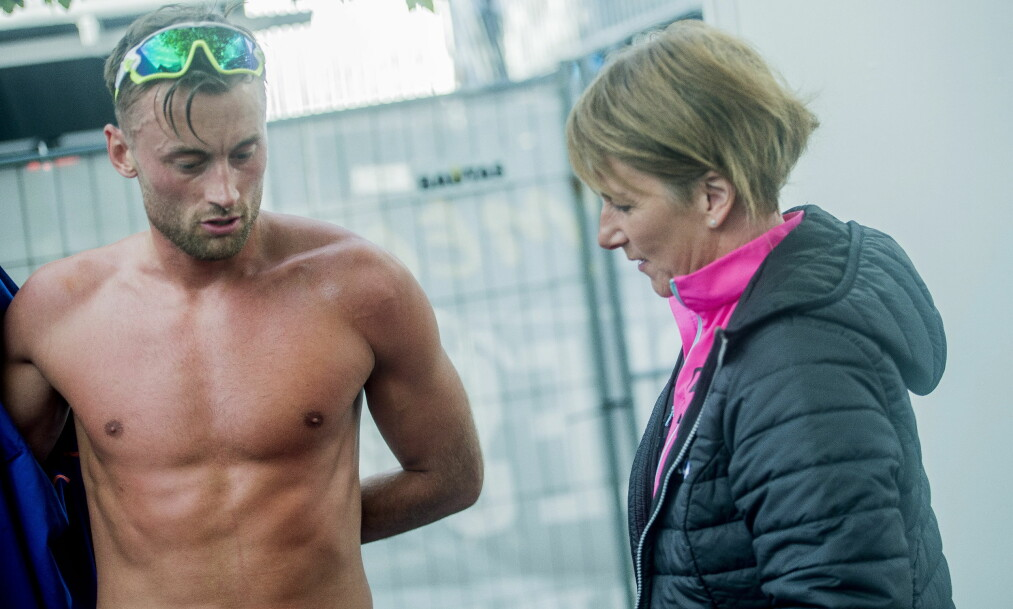 TAKKER MAMMA: Petter Northug er glad for at May Fredly Northug stiller opp. Foto: Thomas  Rasmus skaug / Dagbladet