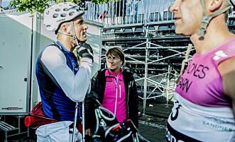 STOLT: May Fredly Northug er stolt over sønnene sine, Petter, Tomas og Even. Foto: Thomas  Rasmus skaug / Dagbladet