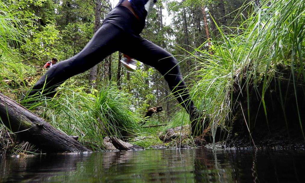 <strong>FIKK EN KLAR FORDEL:</strong> Mannen i 50-åra løp gjennom alle løypene to ganger for å få en fordel. Han ble heldigvis tatt. Dette bildet har ingenting med saken å gjøre. Foto: Jens Olav Kløvrud / Dagbladet&nbsp;