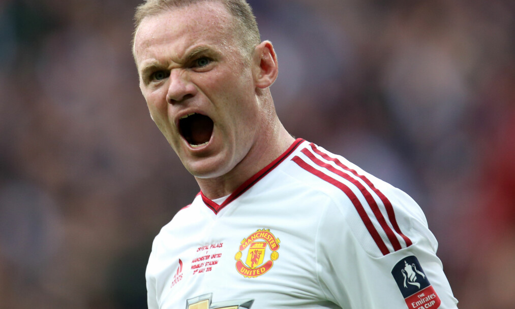 <strong>IKKE SENDERETT:</strong> Norske fans kan foreløpig ikke benke seg foran tv-skjermen til sesongstarten av den engelske mesterskapsserien. Heller ikke helgens kamp mellom Leicester og Manchester United har senderett i Norge. Dermed kan fansen gå glipp av spillere som Wayne Rooney (bildet) i aksjon denne helga. Foto: Jed Leicester/BPI/REX/Shutterstock/NTB Scanpix