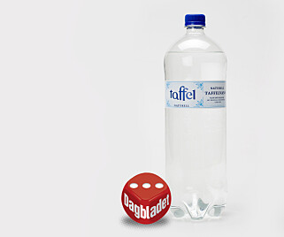 TAFFEL: Mye saltsmak og litt pussig smak. Foto: ANITA ARNTZEN