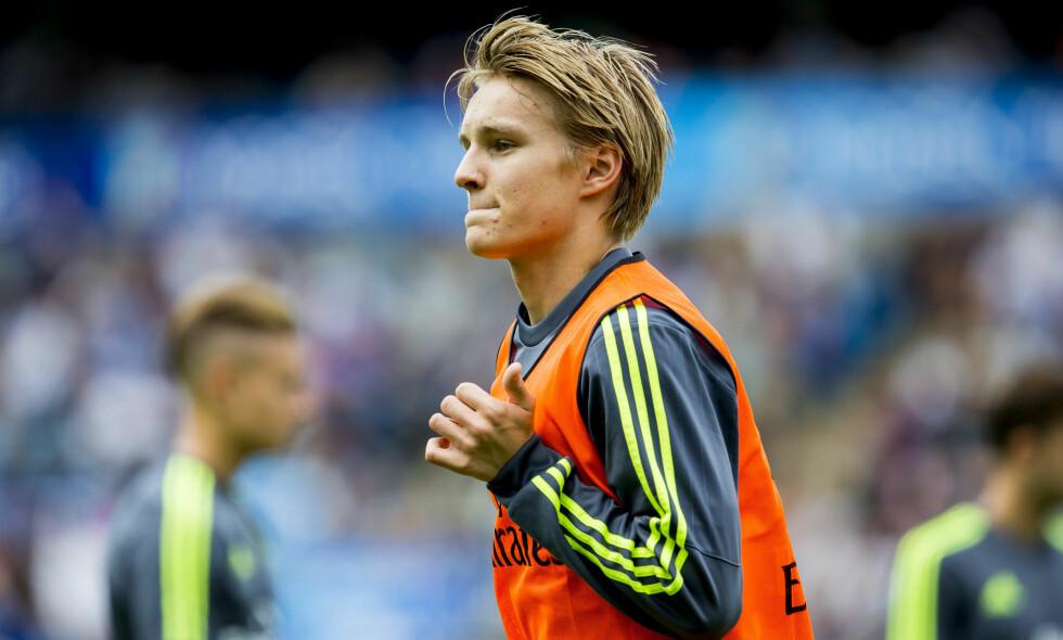 UTVIKLING: Mange har vært bekymret for Martin Ødegaards utvikling, men i 2016 har han tatt store steg, selv om han har mistet plassen på det norske A-landslaget. Foto: Vegard Wivestad Grøtt / NTB scanpix