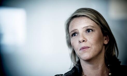 REAGERER: Innvandrings- og integreringsminister Sylvi Listhaug. Foto: Thomas Rasmus Skaug / Dagbladet
