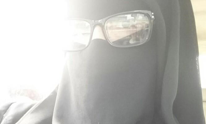 Sarah Safi har gått med plagget nicab lenge. Her er et bilde av henne, tatt fra hennes egen Facebook-profil. Foto: Privat
