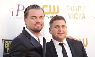 <strong>FORSKJELLER:</strong> Selvom de er gode kamerater på privaten ble Leonardo DiCaprio og Jonah Hill svært forskjellsbehandlet når det gjadt hva de tjente på storfilmen «The Wolf of Wall Street». Foto: NTB /Scanpix<div><br></div>