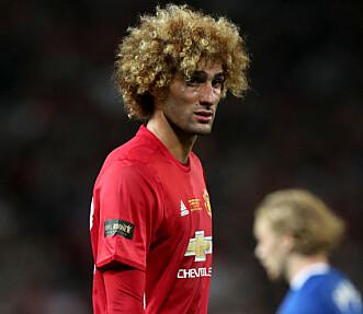 <strong>EN DEL AV SPILLET:</strong> Spillere som Marouane Fellaini får gjennomgå på sosiale medier. Foto: Peter Byrne/PA Wire.&nbsp;