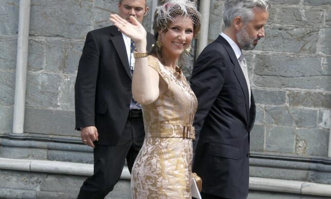 HOLDT HENDER: Nyheten om at prinsesse Märtha Louise (44) og hennes ektemann gjennom 14 år, Ari Behn (43) går hvert til sitt, ble annonsert av Slottet like før klokka seks i kveld. Foto: Stella Pictures