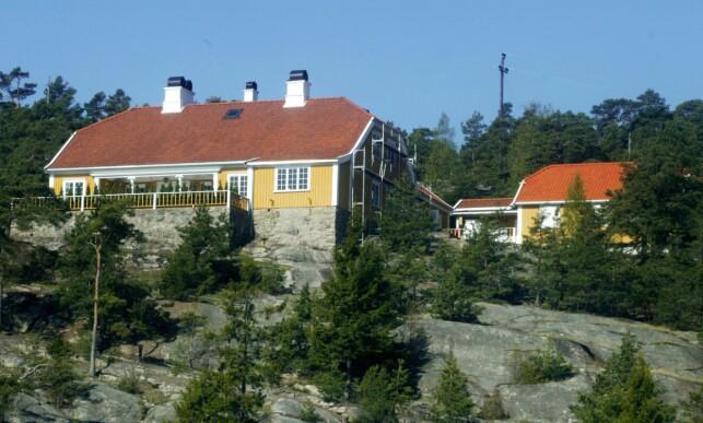 FERIESTED: Eiendomer i området rundt Hankø, hvor Bloksbjerg ligger, har en verdi på mellom 15 til 25 millioner kroner. FOTO: Birgitte Aasen / Aftenposten / NTB Scanpix