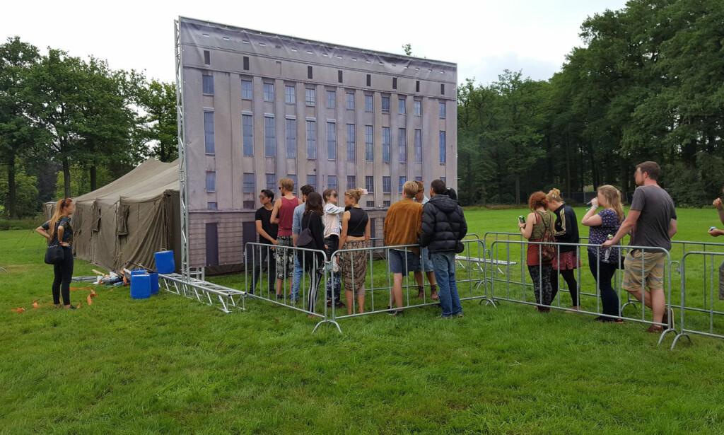 SLIK SÅ DET UT: Slik så den fiktive utgaven av Berghain ut på den nederlandske festivalen. Foto: Rens Mors / Bauhaus