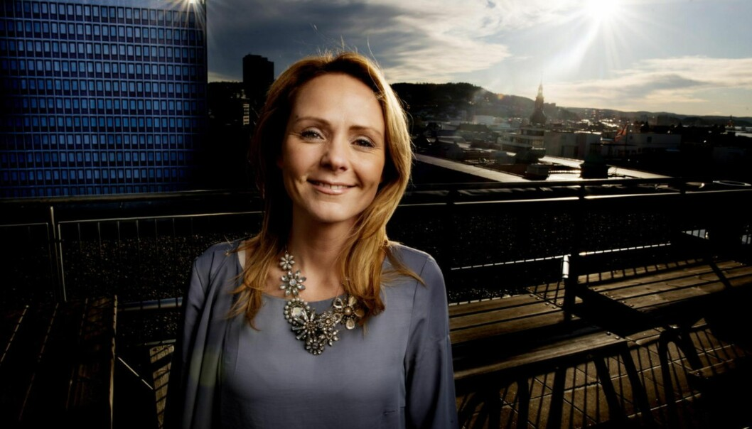 Kulturminister Linda Hofstad Helleland