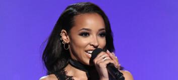 Norskættede Tinashe (23) avviser romanse med Calvin Harris (32)