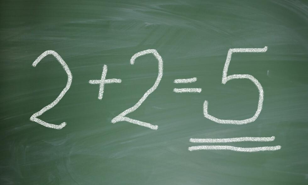 Undersøkelse: Elevundersøkelsen TIMMS viser at norske femteklassinger er best i Norden i skolefaget matematikk. Foto: NTB Scanpix