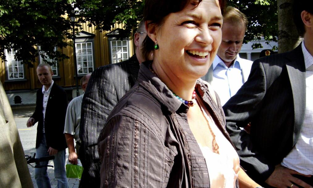 <strong>ANMELDES:</strong> Anne Kathrine Slungård er en av dem som anmeldes for trusler mot Hemsedal-frikjente. FOTO: OLAV OLSEN Foto: Morten Stokkan / Dagbladet.&nbsp;