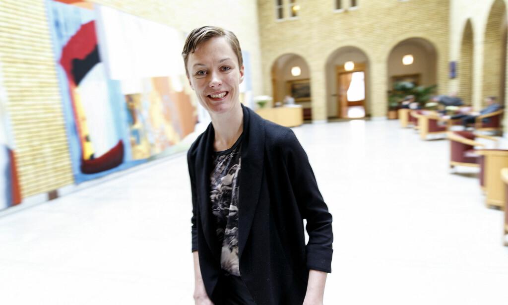 VIL HA TILBAKE PLIKT: Anette Trettebergstuen i Ap vil at norske bedrifter skal rapportere inn hvilke tiltak som gjennomføres for å unngå seksuell trakassering på jobb. Foto: Gorm Kallestad / NTB scanpix