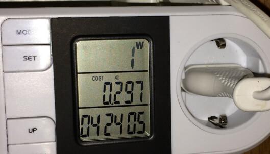 Så mye strøm bruker dingsene i hjemmet ditt
