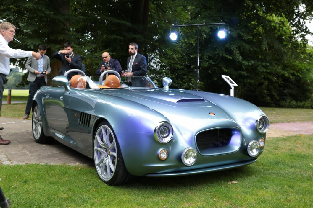 <strong><b>GJENOPPSTÅTT:</strong></b> Etter å ha blitt reddet fra konkurs av Kamkorp/Frazer-Nash i 2011, har det tatt fem år for Bristol Cars å utvikle sin første nye modell. Frazer-Nash planlegger ellers en modell til - en elbil/hybrid med rekkeviddeforlenger. Foto: BRISTOL