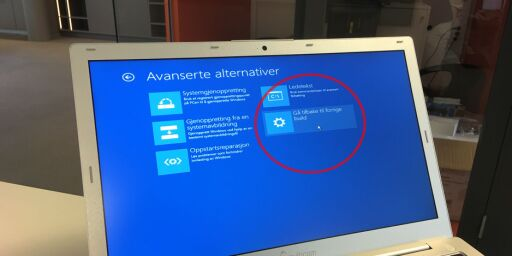 Slik fjerner du Windows 10 «Aniversary Update»