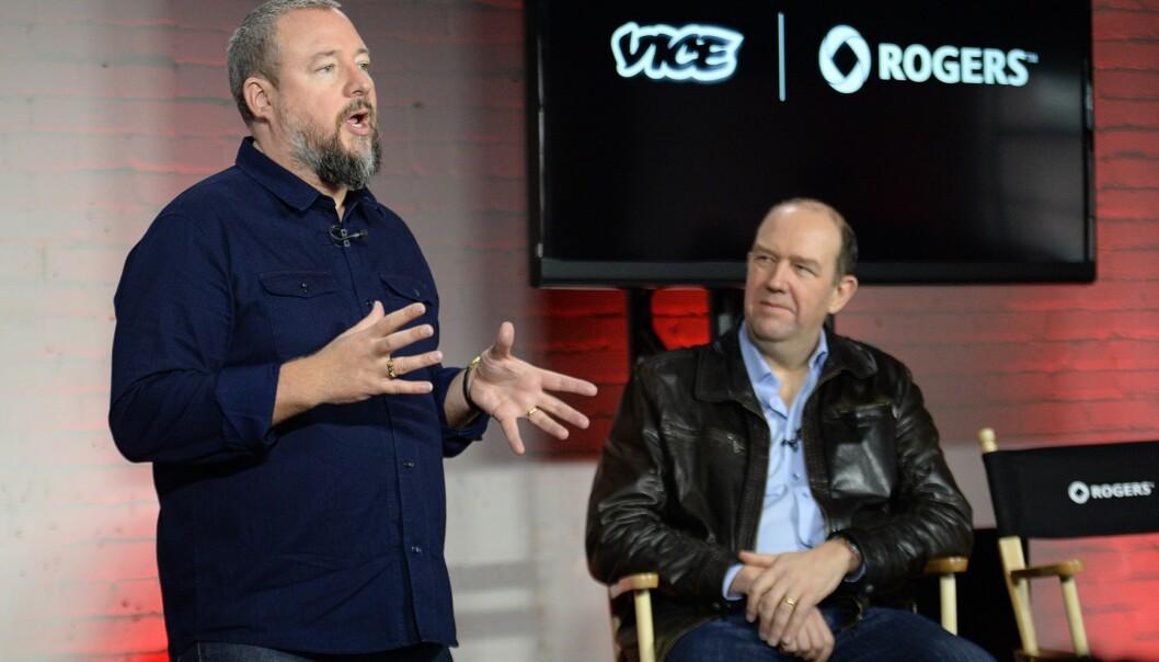 SJEFEN: Vice-grunnlegger Shane Smith har ekspandert medieselskapet Vice fra et knøttlite kult-blad til et internasjonalt og prisbelønt medieselskap. Foto: AP / NTB Scanpix