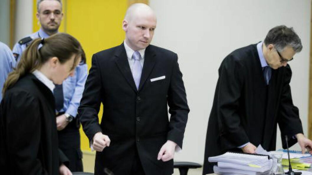 <strong>VANT I TINGRETTEN:</strong> I dag ble det klart at staten anker dommen fra tingretten. De mener at soningsforholdene ved Skien fengsel ikke utgjør et menneskerettighetsbrudd overfor Breivik. Foto: Bjørn Langsem / Dagbladet