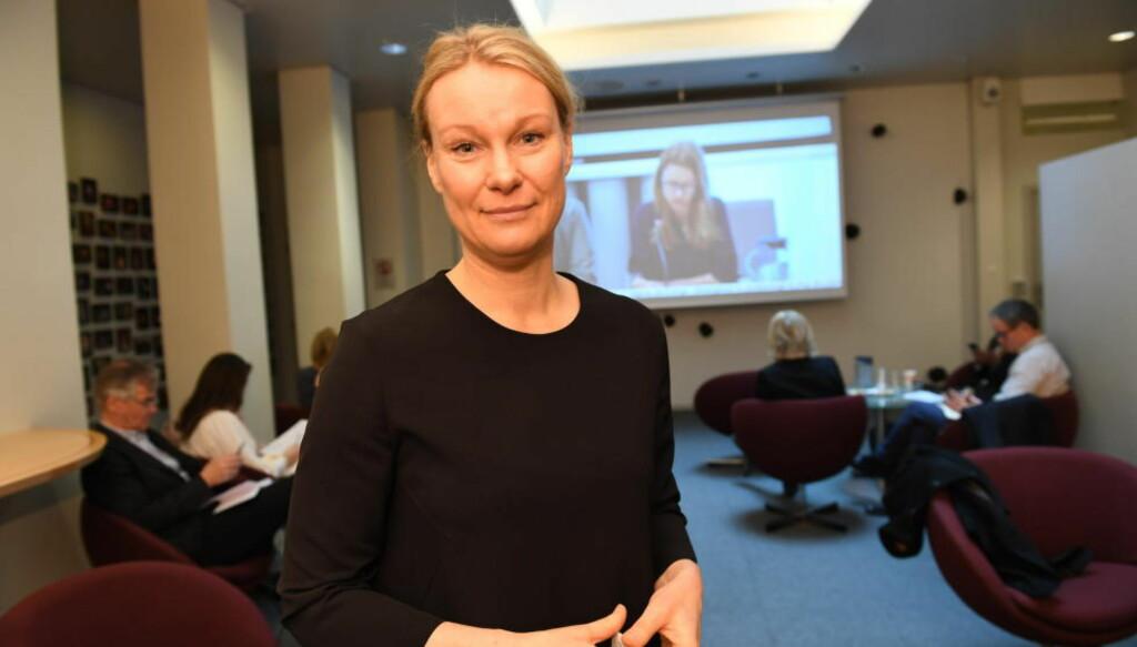 HEVDER NORGE VIL BRYTE FORPLIKTELSER: Karolina Lindholm Billing fra UNHCR er kritisk til flere deler av Sylvi Listhaugs innstramminger på asylfeltet. Forto: Arne V. Hoem / Dagbladet