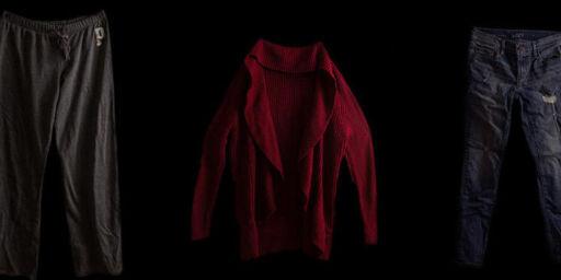 image: Disse klærne hadde de på seg da de ble voldtatt