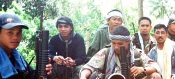 Kampfly bombet gisseløya på Filippinene