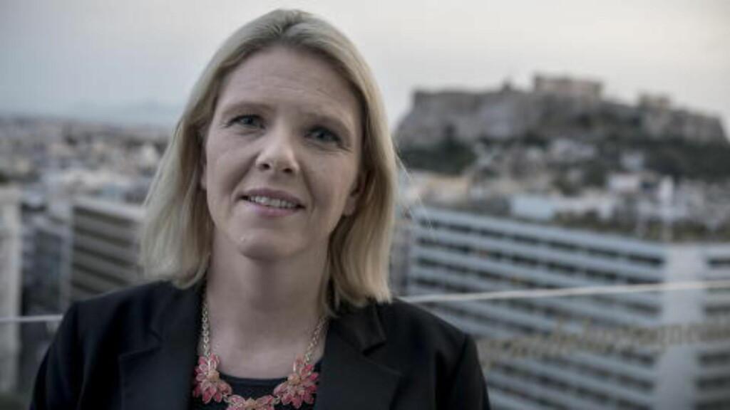 TAR TIL MOTMÆLE: Sylvi Listhaug er ikke enig med Ali Esbati.  Foto: Øistein Norum Monsen / Dagbladet