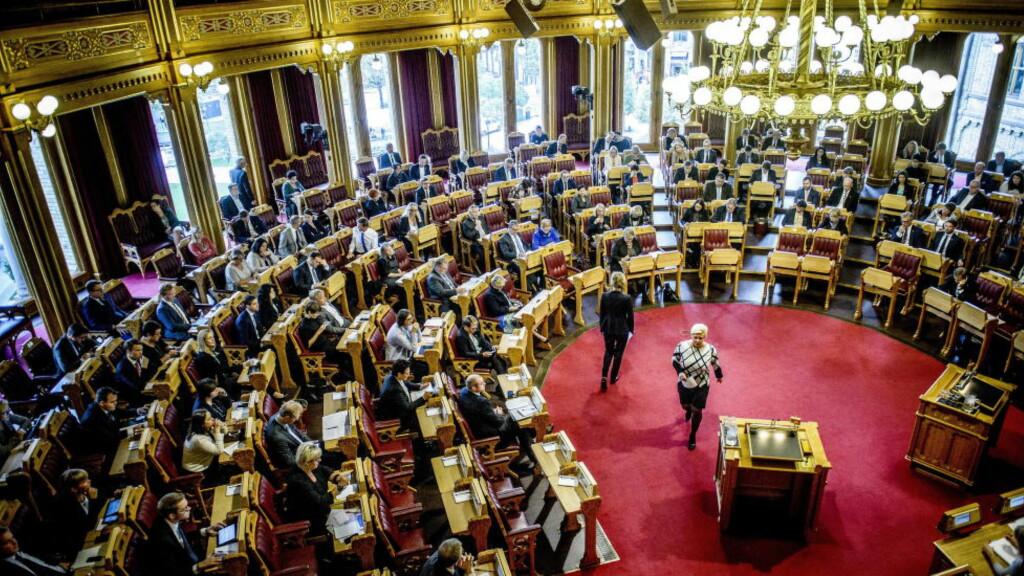 Skatteforliket:  Private pensjonssparere og norske bedriftseiere tar støyten. Foto:Thomas Rasmus Skaug / Dagbladet