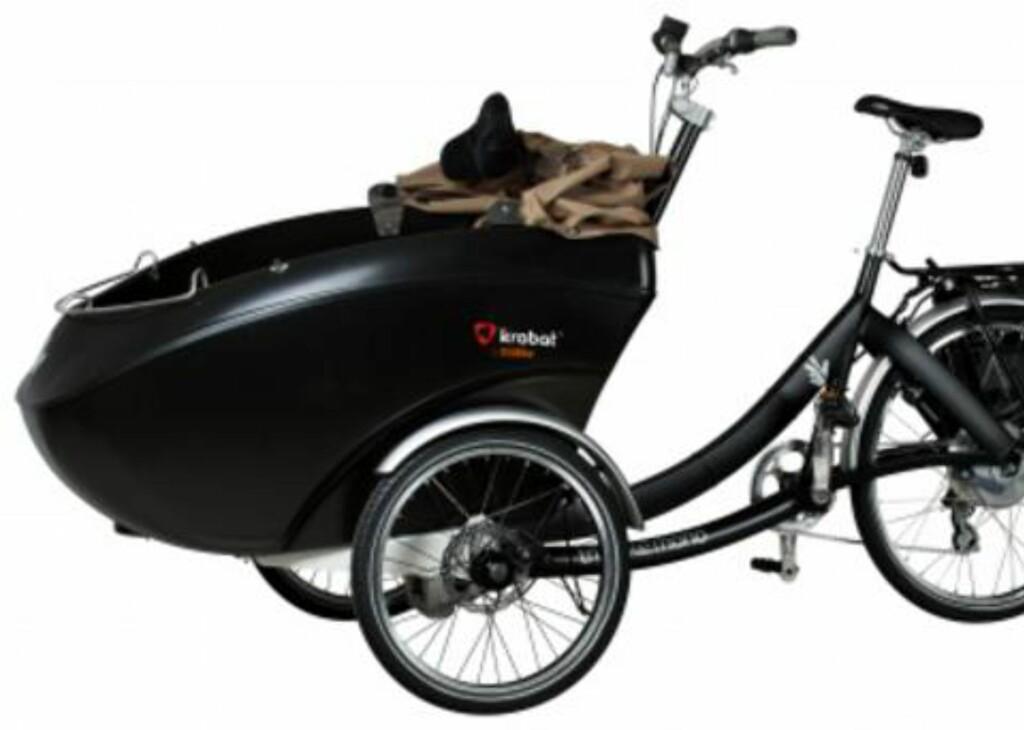 STJÅLET: Sykkelen til Oliver og Cathrine som ble stjålet i Oslo natt til første mai.