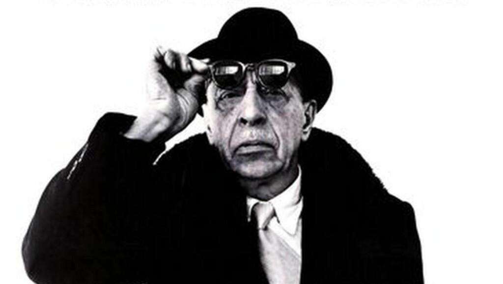 Autoritativ tyngde: Stravinskij var ledende i sin tid på å spille inn egne verker. Men det var svært ofte nød som drev ham inn i studio.