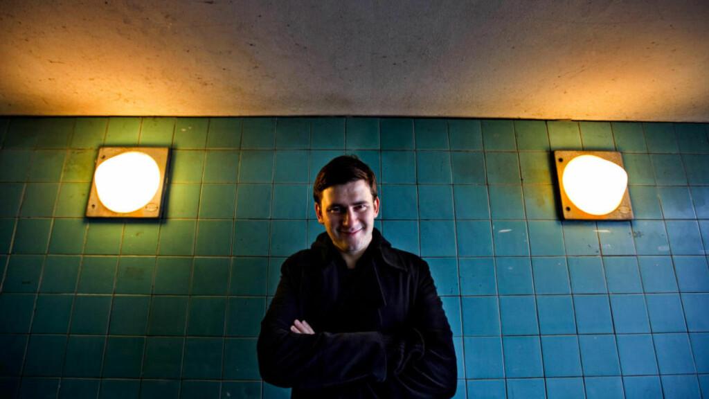 SUKSESSFORFATTER: Dmitrij Glukhovskij (36) er en av de mest leste russiske forfatterne i tida etter århundreskiftet.  Foto: NTB SCANPIX / Anette Nantell / DN