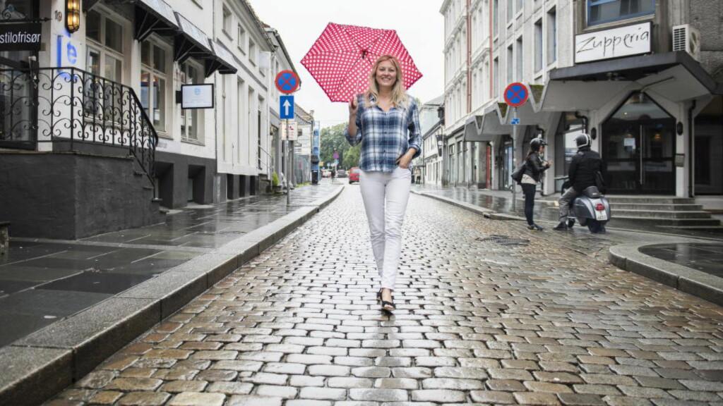 VÆRSJEFEN:  Eli Kari Gjengedal er nå værsjef i TV 2. Men den første tida på skjermen var ikke bare lett. Foto: Lars Eivind Bones / Dagbladet