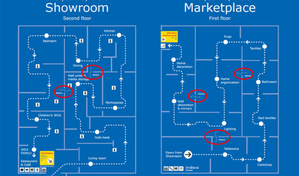 ikea oslo kart Eks sjef avslører: IKEA snarveiene du trolig ikke visste om  ikea oslo kart
